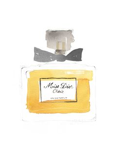 Miss Dior Chérie, one of my favorite parfums.