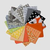 """16 Fat Quarters Chosen for you by Rita from Red Pepper Quilts. Each fat quarter measures 18"""" x 22"""". http://www.redpepperquilts.com..."""