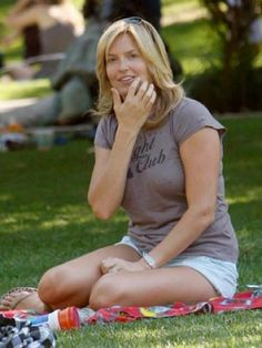 Penny Lancaster without make-up