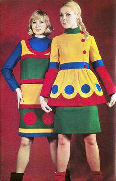 1960s fashion in 'Sputnik' magazine