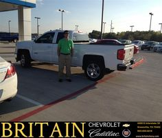 https://flic.kr/p/z1VDAv | Happy Anniversary to Melissa Smith/ Jacob on your #Chevrolet #Silverado 1500 from Janna  Reel at Britain Chevrolet Cadillac! | deliverymaxx.com/DealerReviews.aspx?DealerCode=I827