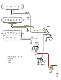 jeff baxter strat wiring diagram - google search | guitar wiring, Wiring diagram