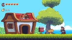 Beard Blade is a 2D platformer inspired by SNES & GBA legends, developed by a team of two.