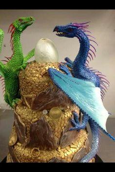 dragon wedding cake - Google Search