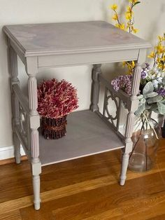 Painted Tables, Furniture Makeover, Chalk Paint, Entryway Tables, Hand Painted, French, Create, Design, Home Decor