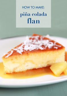 Be prepared to wow your friends and family this month as you celebrate National Flan Day. This Piña Colada Flan recipe adds a tropical island twist to your classic flan recipe, perfect to celebrate the end of summer. Add some toasted coconut to the top of this creamy pineapple- and coconut-flavored dessert for a bit of crunch with every bite!