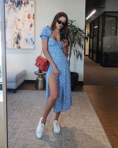 # Casual Outfits party polka dots Casual Dresses Cheap Clothing Stores Near Me African Attire Dresses Long Party Dresses Mode Outfits, Girl Outfits, Fashion Outfits, Fashion Ideas, Fashion Hacks, Hippie Outfits, Fashion Tips, Dress Fashion, Fashion Clothes