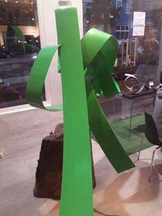 2k Green Knott. Mark L Swart. #marklswartsculpture Green, Artist, Design, Artists
