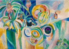 dwnsy:  Robert Delaunay's Colourful SymphonyPortuguese Still Life (1915 - 1917)© Public DomainPhoto credit: Eric Emo / Parisienne de PhotographieviaMusée d'Art moderne de la Ville de Paris