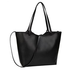 Cityelf Women's Retro Solid Color Large Capacity Canvas Tote Shoulder Bag *** See this great image @