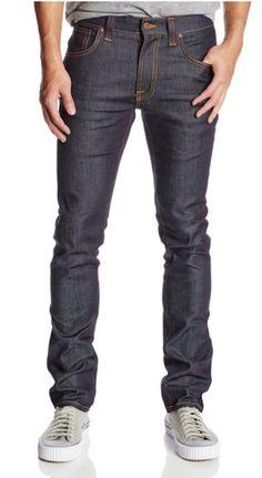 Nudie Jeans Men's Tape Ted Slim Fit Jean