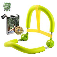 Portable Ab Roller Crunch Home Gym Master Thigh Exercise Body Toner Fitness Green * Be sure to check out this awesome product. (Note:Amazon affiliate link)