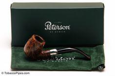 TobaccoPipes.com - Peterson Irishmade Army 160 Fishtail Tobacco Pipe, $96.00 #tobaccopipes #smokeapipe (http://www.tobaccopipes.com/peterson-irishmade-army-160-fishtail-tobacco-pipe/)
