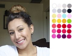 colors that fit you best- winter season color palette