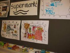 Thema kleur en vorm | Supermarkt | Juf Anke lesidee kleuters
