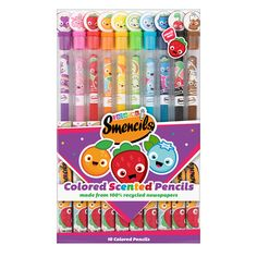 Colored Smencils - scented recycled newspaper colored pencils | Scentco, Inc.