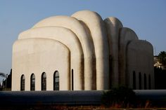 Bauhaus Architecture- a synagogue in Tel Aviv, Israel