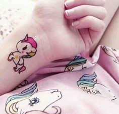 tattoos kawaii tattoos de unicornio