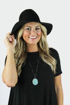 Black Festival Hat — The Impeccable Pig Online Boutique