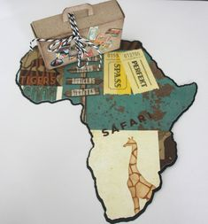 Money gift for a safari to Africa – Money gifts – Wedding – Handmade with love in Magdeburg, Germany by Der Stempelkönig Valentines Day Sayings, Valentines Day Gifts For Friends, Gifts For Coworkers, Gifts For Teens, Gifts For Husband, Valentine Day Gifts, Graduation Gifts For Girlfriend, Creative Gifts For Girlfriend, Diy Simple