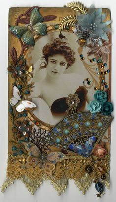 "Le Courtesan - To see more of my art, signup to win my art, download free images, and learn new techniques checkout my Blog ""Artfully Musing"" at http://artfullymusing.blogspot.com"