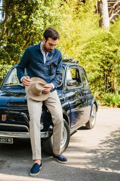 drakes-diary:Arpenteur, Stoffa, and a Fiat 500.