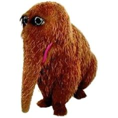 @Alysha Schmidt Silveira learn his name:   Mr. Snuffaluffagus