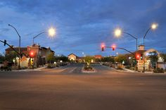Rancho Marketplace at night Street View, Scene, Night, Places, Stage, Lugares