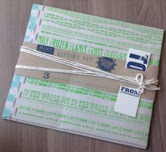 POPSUGAR Must Have Box Review – December 2013 MIXT Studio Wrapping Paper – Value $9