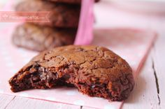receta galletas de chocolate