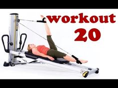 Pilates Workout for Total Trainer & Reformer (by Ultimate Pilates, Sydney) Physical Exercise Pilates Training, Pilates Workout, Fitness Studio Training, Pilates Reformer, Pilates Studio, Workout Trainer, Hiit, Total Gym Workouts, At Home Workouts