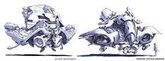 Spaceship Sketches, Jeff Zugale on ArtStation at https://www.artstation.com/artwork/spaceship-sketches-1