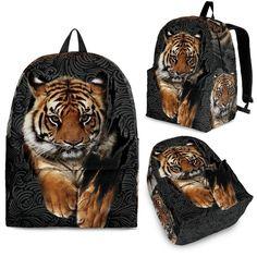 Tiger Backpack – Wear Saga Absolute Zero, Heritage Backpack, State Art, Mesh Fabric, Fashion Backpack, Perfect Fit, Backpacks, Tigers, Saga