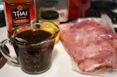 Cubes de porc à la mijoteuse à l'asiatique - Auboutdelalangue.com (2) One Pot Dishes, Liquid Measuring Cup, Slow Cooker Recipes, Asian Recipes, Meal Planning, Crockpot, Steak, Pork, Appetizers