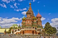 St. Basil's Cathedral - Moscow - RU -  1555 - Byzantine.