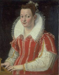 Bianca Capello by Lavinia Fontana (Musee des Beaux Artes Valenciennes)  Italian with Spanish influences (Ropa false sleeves)