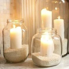 Add a beach vibe to your home with these coastal DIY home decor ideas. From seashell wall art to DIY sea glass, there are plenty of beach house decor ideas to choose from. There are DIY coastal decorations for your living room, bedroom, bathroom, dining room, porch and much more. Bathroom Window Decor, Bathtub Decor, Diy Bathroom, Bathroom Ideas, Simple Bathroom, Bedroom Decor, Easy Home Decor, Handmade Home Decor, Cheap Home Decor