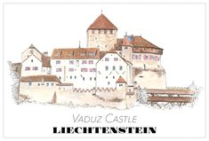 Postcards - Road Trips around the World Travel Drawing, Creative Skills, Medieval Castle, Travel With Kids, Vintage Cards, Travel Posters, Travel Pictures, Road Trip, Around The Worlds