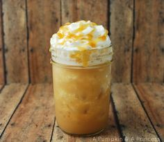 Frozen Caramel Drink Recipe