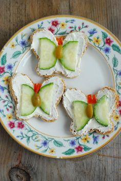 Butterfly Tea Sandwiches