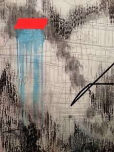 Julie Mehretu 'Liminal Squared' at Marian Goodman Gallery