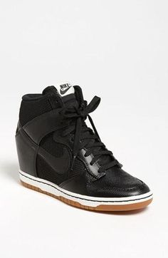 Wedge Sneakers! Nike 'Dunk Sky Hi' Wedge Sneaker. These actually might be the worst thing I've ever seen