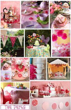 El taller de Andrea: Tea Party