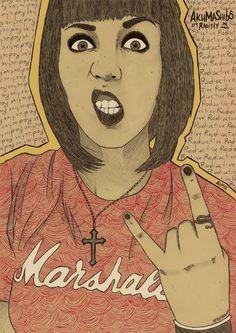 """Radithy Marshall"", by Mapuche Salado"