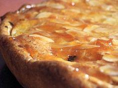 Tarte poire amandine (light but delicious)