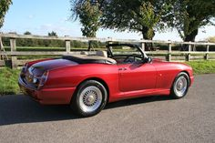 eBay: MG RV8 MGR V8 - Nightfire Red, UK spec, 15,400 miles Convertible, Mg Cars, Car Sales, Passion, Classic, Sports, Ebay, Autos, Places