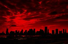*Red sky in the morning, sailors take warning. Red sky at night sailor's delight. Rainbow Aesthetic, Aesthetic Colors, Devil Aesthetic, Aesthetic Pastel, Red Feed, Red Cloud, Red Walls, Shades Of Red, Vaporwave