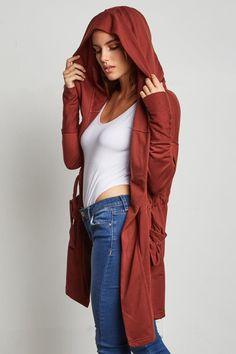 STYLE # 183954 Web Exclusive BLENDING WITH YOU JUNIORS HOODED CARDIGAN $25.99 Athleisure Trend, Athleisure Fashion, Hooded Cardigan, Duster Coat, Stylish, Jackets, Costume Design, Down Jackets, Hooded Jacket