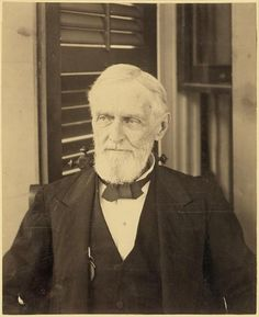 Confederate President Jefferson Davis during portrait session at Davis' home Beauvoir, near Biloxi, Mississippi, where he lived out his final years. American Civil War, American History, Mississippi, Southern Heritage, Southern Charm, Southern Style, Confederate States Of America, Confederate Leaders, Jefferson Davis