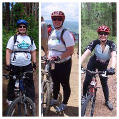 """Stephanie: """"August 2010 on the left, untreated. """"Normal"""" labs, altered mental status, unable to lose weight. July 2011 in middle -still untreated.  Today, on the right. Down 54 pounds, on Nature-throid 3 grains, since May 2012. Getting my life back!"""""""